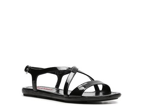 prada leather sandal