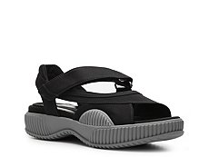Prada Canvas Flatform Sandal