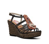 Two Lips Zigi Wedge Sandal