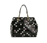 Betsey Johnson Kitchi Puzzle Tote