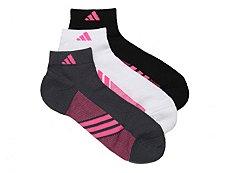 adidas Superlite Spiral Womens Ankle Socks - 3 Pack