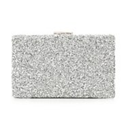 Lulu Townsend Rock Glitter Clutch