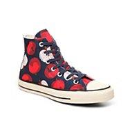 Converse Chuck Taylor All Star Apple Print High-Top Sneaker - Womens