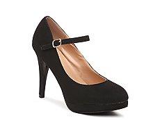 Journee Collection Shelby Platform Pump