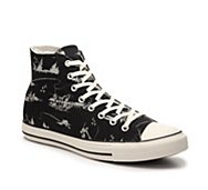 Converse Chuck Taylor All Star Fishing Print High-Top Sneaker