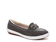 Keds Glimmer Boat Suede Slip-On Sneaker - Womens