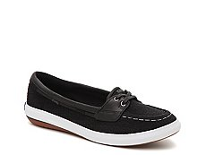 Keds Glimmer Boat Crochet Slip-On Sneaker - Womens