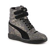 Puma Sky High-Top Wedge Sneaker