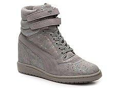 Puma Sky High-Top Wedge Sneaker - Womens