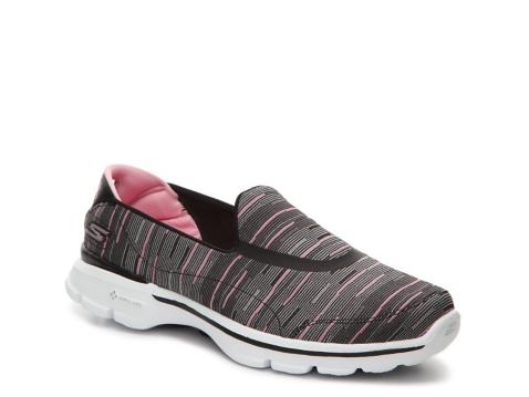 skechers go walk 3 resistance slip on walking shoe dsw
