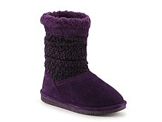 Bearpaw Donna Knit Tall Girls Youth Boot