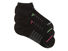 New Balance Core Cotton Womens No Show Socks - 3 Pack