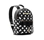 Betsey Johnson Heart Clip Dot Backpack