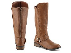 Steve Madden Shawny Girls Youth Riding Boot