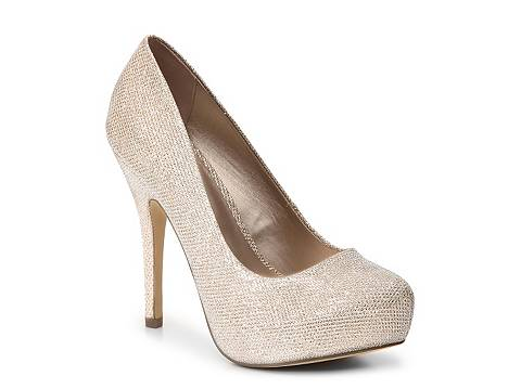 Mix No. 6 Sarti Glitter Platform Pump | DSW