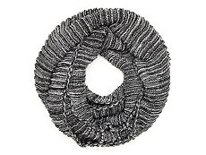 David & Young Marled Infinity Scarf