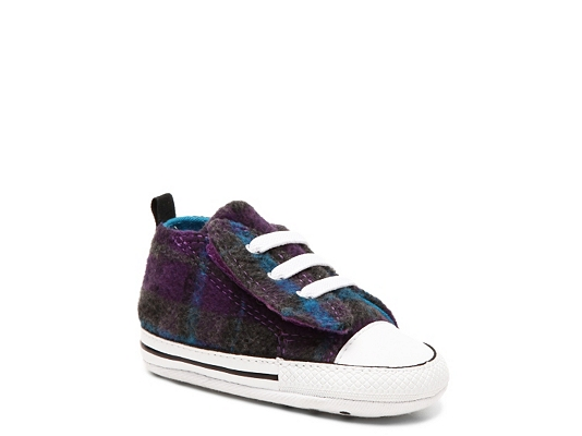 Converse Chuck Taylor All Star First Star Girls Infant Crib Shoe