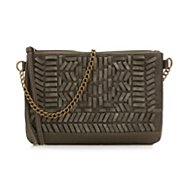 Crown Vintage Woven Crossbody Bag