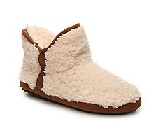 Dearfoams Short Pile Bootie Slipper