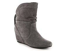 White Mountain Pansy Wedge Bootie