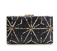 Lulu Townsend Geo Sequin Clutch