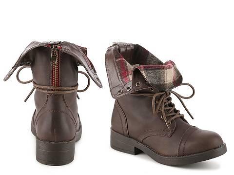 Madden Girl Maavin Combat Boot | DSW