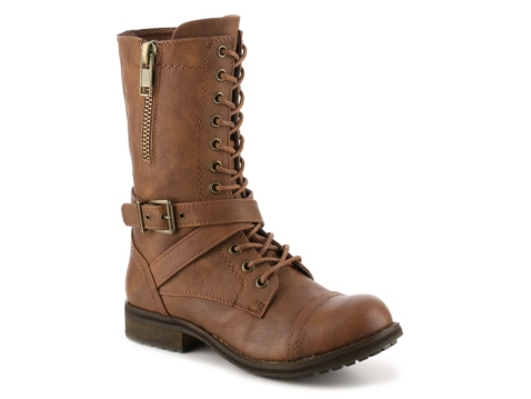 crown vintage luciana combat boot dsw