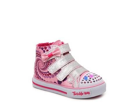 skechers twinkle toes shuffles lil skipper girls toddler. Black Bedroom Furniture Sets. Home Design Ideas