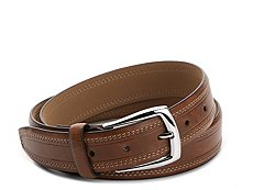 Dockers Double Stitch Leather Belt