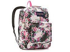JanSport Superbreak Floral Backpack