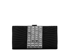 Lulu Townsend Pleated Jewel Clutch