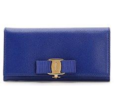 Salvatore Ferragamo Bow Leather Wallet