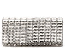Lulu Townsend Rhinestone and Jewel Clutch