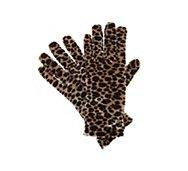 Kelly & Katie Velvet Leopard Print Gloves