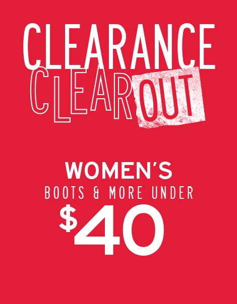 PRESIDENT'S DAY CLEARANCE
