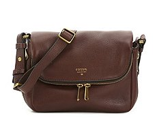 Fossil Preston Mini Leather Crossbody Bag
