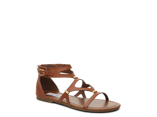 Steve Madden Comma Girls Youth Gladiator Sandal