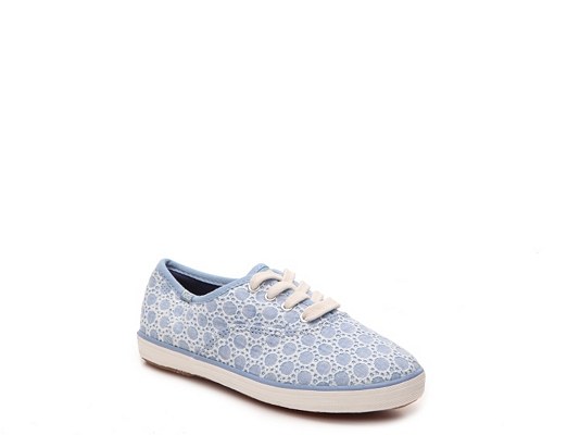 Keds Champion Eyelet Girls Youth Sneaker