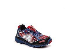 Stride Rite Spiderman Boys Toddler Light-Up Sneaker