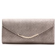 Kelly & Katie Metallic Woven Clutch