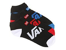 Vans Solid Mens No Show Socks - 3 Pack