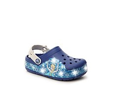 Crocs Frozen Girls Toddler & Youth Light-Up Clog