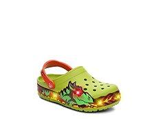 Crocs Fire Dragon Boys Toddler & Youth Light-Up Clog