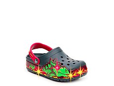 Crocs Fire Dragon Boys Toddler & Youth Light-Up Clog