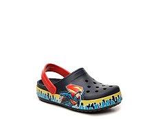 Crocs Superman Boys Toddler & Youth Clog