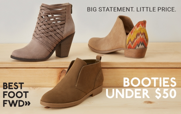 BOOTS UNDER $50