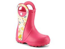 Crocs Handle It Sea Life Girls Toddler & Youth Rain Boot
