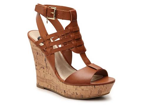 G by GUESS Donnte Wedge Sandal | DSW