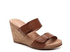 CL by Laundry Team Player Wedge Sandal
