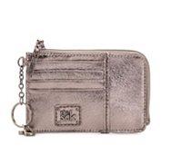 The Sak Metallic Leather Card Wallet